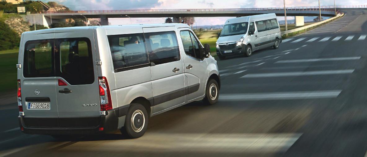 Utilitaires - transport de personnes