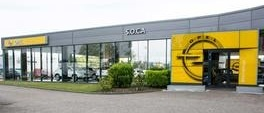 Extérieur de la concession Opel SOCA Automobile Strasbourg