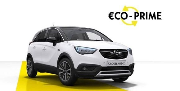 crossland X, offres, eco prime, imposable, opel
