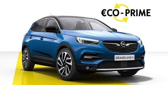 grandland x, offres, eco prime, imposable, opel