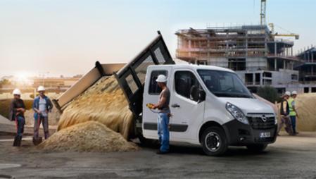 Opel Movano benne