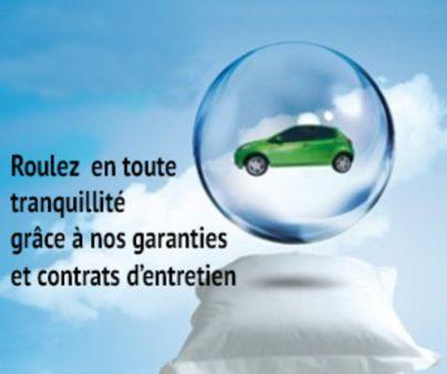 Garanties et contrats d'entretien