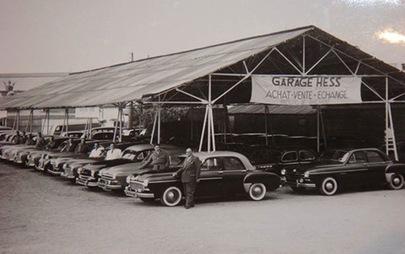 Opel Besançon  distributeur du groupe Hess