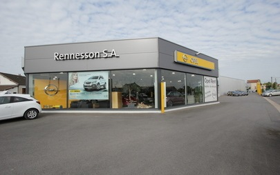 Notre histoire - Opel Rennesson
