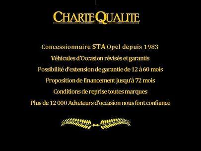 CharteQualite, opel