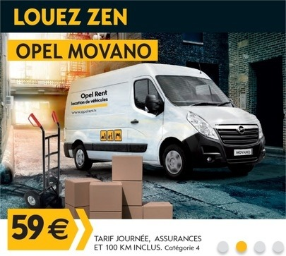 Opel Rent - Opel Movano