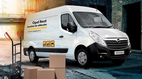Opel Movano - Opel Rent Montpellier