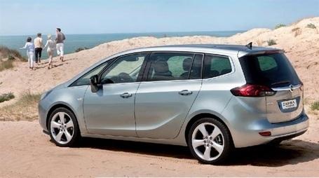 Opel Zafira Tourer - Opel Rent Montpellier