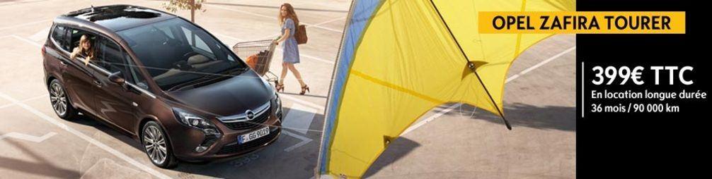 Opel Zafira Tourer - Offres de Location Longue Durée