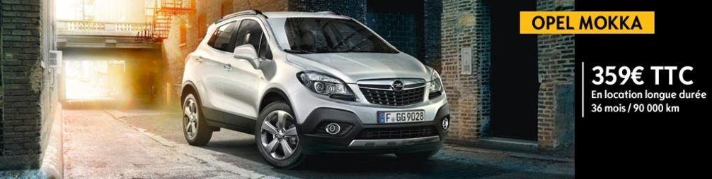 Opel Mokka - Offres de Location Longue Durée