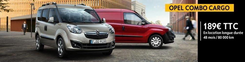 Opel Combo Cargo - Offres de Location Longue Durée