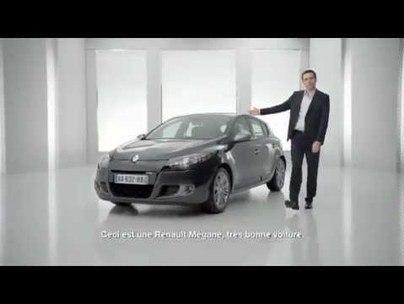 Pub Renault Mégane 3