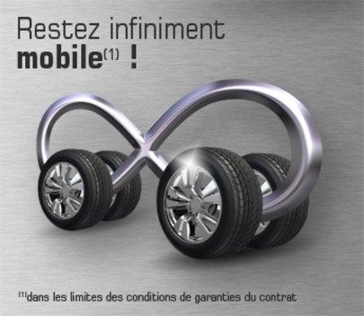 Restez infiniment mobile!
