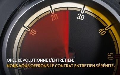 OPEL LAFONTAINE - Contrat Entretien Sérénité Opel